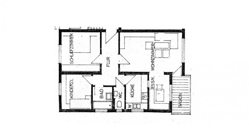 Wohnung seniorengerecht umbauen (Bestand)