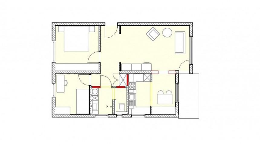 Wohnung seniorengerecht umbauen (Entwurf)
